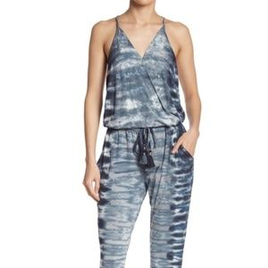 YFB Chrissy Surplice jumpsuit. Small